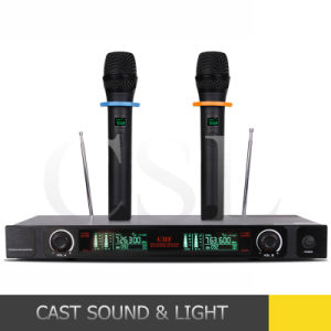 Professional Karaoke VHF Wireless Microphone System (CSL-U79) pictures & photos