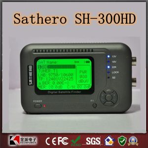 Digital Satellite Finder Sathero Sh-300 HD Support Twin Tuner pictures & photos