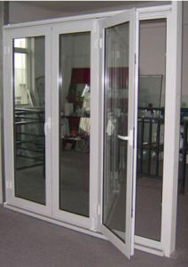 Cuatomized High Quality Aluminum Casement Glass Door for Balcany/Guestroom (ACD-020) pictures & photos