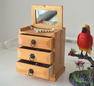 Multifunctional Wooden Bijou Cabinet pictures & photos
