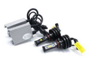 Fanless 50W 4500lm Car LED Headlight pictures & photos