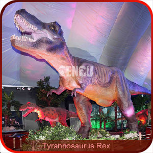 Life-Size 3D Animated Dinosaur Statue pictures & photos