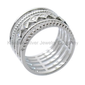 925 Silver Jewelry Fashion Jewellery, Inlaid Ring (KR3099) pictures & photos