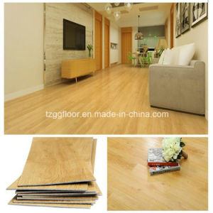 Manufacturer Durable Damp Proof Vinyl Floor PVC Tile Energy Saving Laminate Wood Flooring pictures & photos