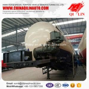 Qilin 50cbm - 70cbm Bulk Cement Powder Tanker Trailer for Kenya pictures & photos