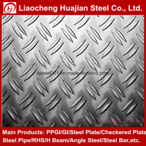 Low Price Hot Rolled Steel Checker Plate for Structure Floor pictures & photos