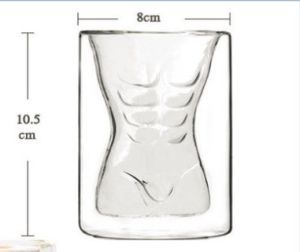Fashion Mouth-Blown Double Wall Wine Glass Cup pictures & photos
