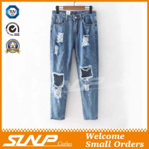 Latest Casual Women′s Denim Pants