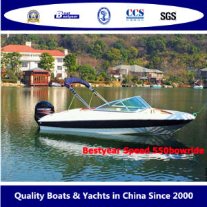 Bestyear Speed Boat of 550bowride pictures & photos