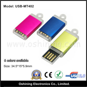 Factory Sell Colorful Mini USB Flash Drive (USB-MT402)