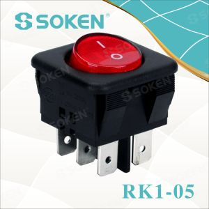 Lighted on off Rocker Switch on on pictures & photos