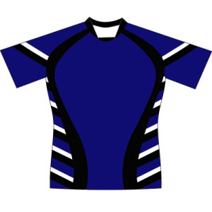 Personalized Mens Sublimated Rugby Shirt for Teams pictures & photos