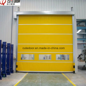 2017 New Remote Control Industrial Automatic Fast Roller Shutter Door pictures & photos