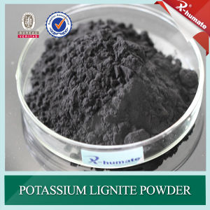 98%Min Potassium Lignite Powder for Oil Drilling Mud Additive pictures & photos