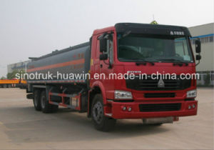 Sinotruk HOWO 6*4 Diesel and Fuel Tanker Truck pictures & photos
