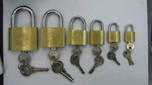 High Quality Steel Padlock Can Customize Logo pictures & photos