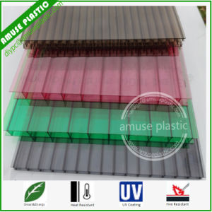 Environment-Friendly Building Material Plastic Roof PC Corrugated Polycarbonate Hollow Sheets pictures & photos