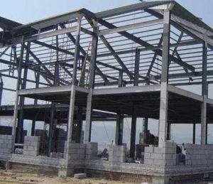 Easy Installation Steel Building Economic Prefabricated Metal Shade Warehouse in Jakarta pictures & photos