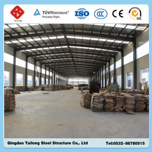 Prefab Light Steel Structure Workshop for Factory pictures & photos
