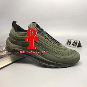 High Quality  Og QS Nanotechnology Plastic Material Sole Air Cushion Shock Jogging Shoes 40-46yards pictures & photos