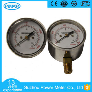 63mm Capsule Low Pressure Gauge Manometer 16 Kpa pictures & photos