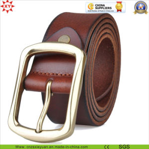 High Quality Real Leather Belt Buckle pictures & photos