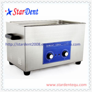 Dental 22L Stainless Steel Digital Tabletop Ultrasonic Cleaner of Hospital Equipment pictures & photos