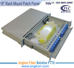 "19"" Rack Mount Fiber Optic Patch Panel"