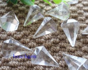 White Quartz Pencil Shape Beads