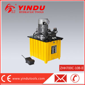 3kw Double Active Heavy Duty Hydraulic Electric Pump (ZHH700C-10B-II) pictures & photos