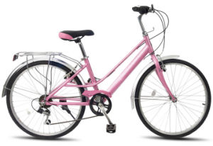 """26"""" Steel Lady City Bicycle Sh-By016 pictures & photos"""