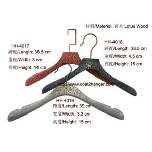 Crack Wooden Clothes Hanger for Women pictures & photos