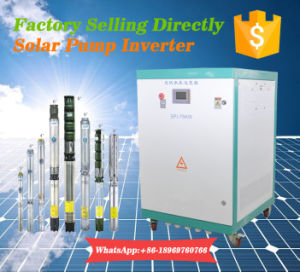 Intelligent Switch Control Hybrid Solar Inverter for 63HP Pump Motor pictures & photos