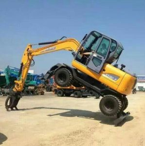 8ton 12ton Hydraulic Wheel Excavator with Yanmar Engine 4X4 Wd Best Price pictures & photos