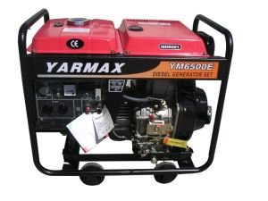 Yarmax Air Cooled Single Phase Open Frame Diesel Generator Genset pictures & photos