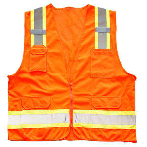 Warning Reflective Safety Vest with Pockets pictures & photos