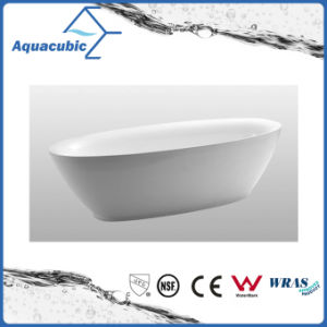 Luxury Pure Acrylic Seamless Self Standing Bath Tub (AB6514) pictures & photos