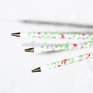 Nail Art Liner Draw Pen Brush Kits 3 PCS Nail Tools (B026) pictures & photos