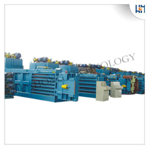 Hydraulic Semi-Automatic Waste Paper Baler Machine pictures & photos
