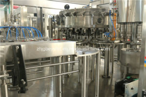 PLC Control 8000bph 3in1 Carbonated Drink Filling Machine (24-24-8) pictures & photos