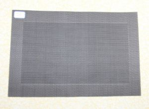 PVC Place Mat (dark gray33333)