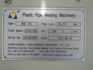 HDPE Pipe Butt Fusion Machine/HDPE Pipe Butt Welding Machine/ HDPE Pipe Fitting Welding Machine/Butt Welding Machine pictures & photos