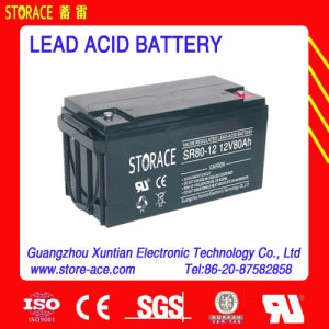 12V 80ah Storage Battery / Lead Acid Battery for UPS System pictures & photos