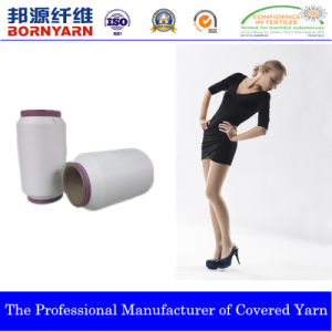 Spandex Covered Yarn with Polyester for Pantyhose Dcy pictures & photos