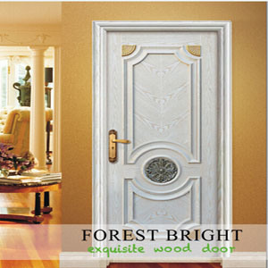 Copetitive Price Door, White Primed Rasied Molding Craftsman Door pictures & photos