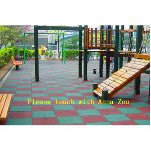 Wear-Resistant Children Rubber Mats Rubber Floor Tiles pictures & photos