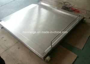 Digital Industrial Floor Scale Stainless Steel Floor Scale with Single Ramp