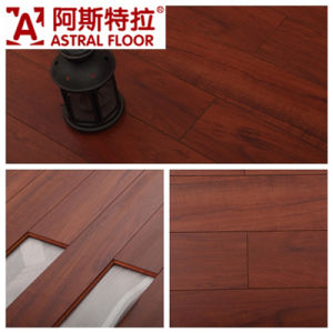 Wood Flooring/ Eir Surface Laminate Flooring (V-Groove) pictures & photos