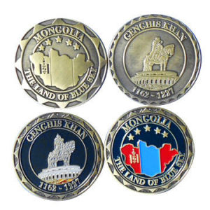 Decoration Challenge Coin Zinc Alloy Material pictures & photos