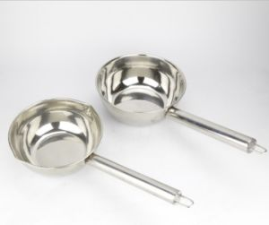 Japanese Style Stainless Steel Sauce Pan (JX-070) pictures & photos
